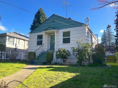 Seattle Single Family Home For Sale: 4333 SW Mills St