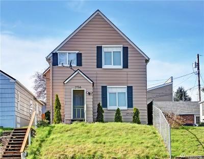 Everett Single Family Home For Sale: 2716 Walnut St