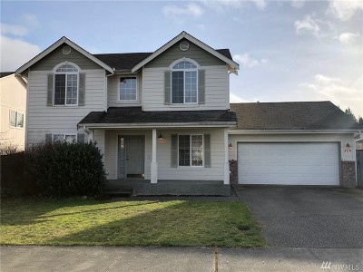 Spanaway Single Family Home For Sale: 8418 203rd St Ct E