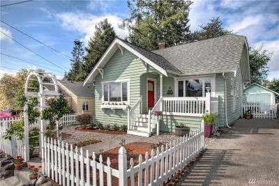 Seattle Single Family Home For Sale: 4106 SW Kenyon St