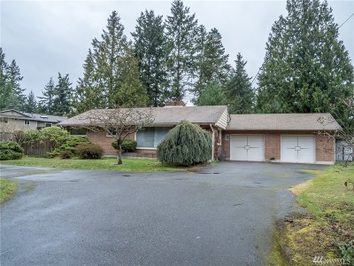 Edmonds Single Family Home For Sale: 24011 Firdale Ave