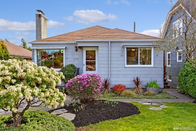 Seattle Single Family Home For Sale: 4104 14th Ave S