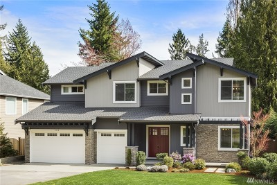 Bellevue Single Family Home For Sale: 2838 109th Ave SE