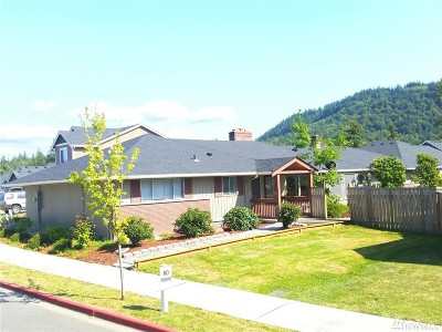 Mount Vernon WA Single Family Home For Sale: $315,000
