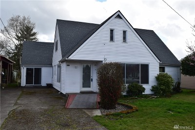 Chehalis Single Family Home For Sale: 462 SW 14th St
