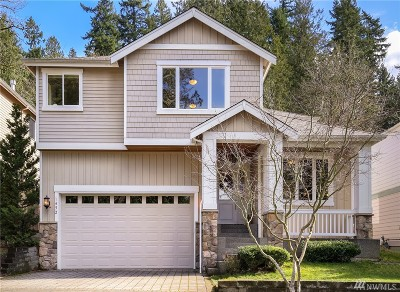 Sammamish Single Family Home For Sale: 1452 207th Ave NE