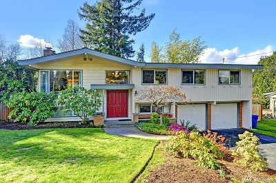 Bellevue Single Family Home For Sale: 6217 125th Ave SE