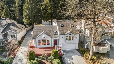 Bellevue Single Family Home For Sale: 2243 West Lake Sammamish Pkwy SE