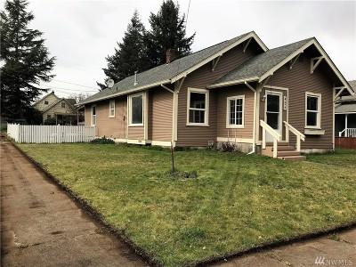 Centralia Single Family Home For Sale: 425 S Diamond St