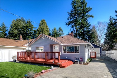 Seattle Single Family Home For Sale: 13436 3rd Ave S