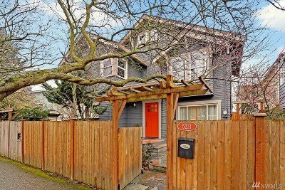 Seattle Single Family Home For Sale: 5213 8th Ave NW