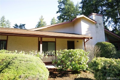 Federal Way Condo/Townhouse For Sale: 31732 47th Lane SW #D