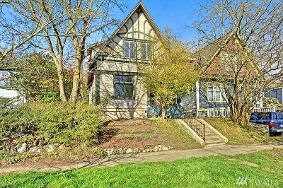 Seattle Single Family Home For Sale: 1421 27th Ave