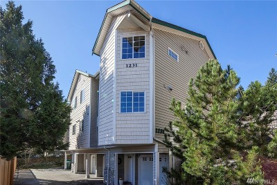Seattle Single Family Home For Sale: 1231 NE 135th St #D