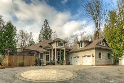 Olympia Single Family Home For Sale: 3303 Gravelly Beach Lp NW