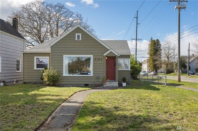 Tacoma Single Family Home For Sale: 2102 S L St