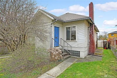 Seattle Single Family Home For Sale: 6023 47th Ave SW
