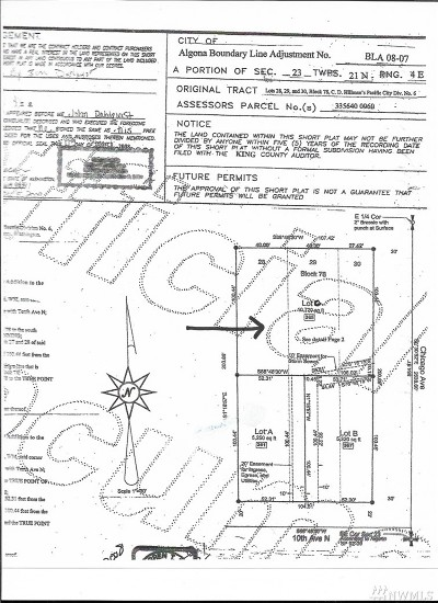 Algona Residential Lots & Land For Sale: 365 10th Ave N