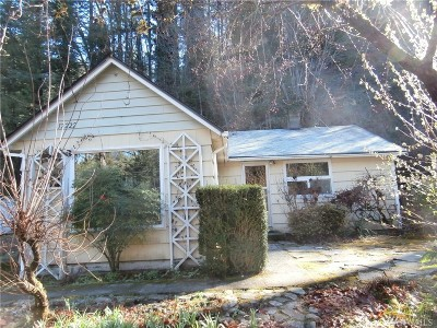 North Bend WA Single Family Home For Sale: $299,000