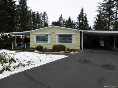 Puyallup Single Family Home For Sale: 10029 191st St E #5