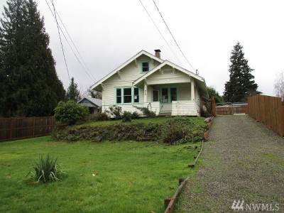 Puyallup WA Single Family Home For Sale: $189,900
