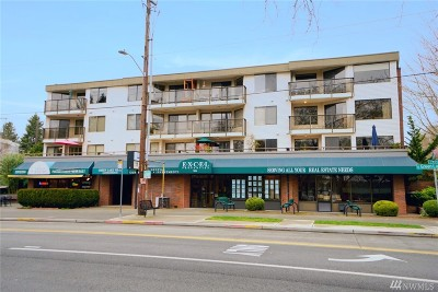 Seattle Condo/Townhouse Sold: 7850 E Green Lake Dr N #201