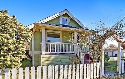 Seattle Single Family Home For Sale: 9504 Dayton Ave N