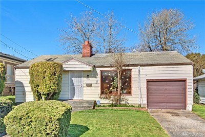 Seattle Single Family Home For Sale: 4032 S Holly St