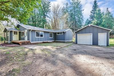 Mason County Single Family Home Pending Inspection: 391 NE Union River Rd