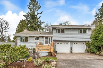 Seattle Single Family Home For Sale: 9740 43rd Place SW