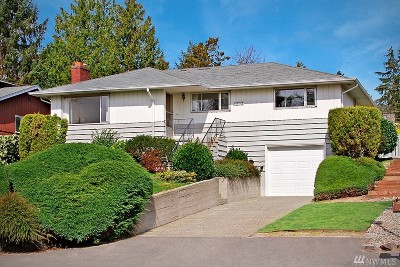 Seattle Single Family Home For Sale: 4018 SW 107th St