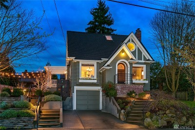 Seattle Single Family Home For Sale: 4736 45th Ave NE