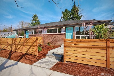 Seattle Single Family Home For Sale: 7922 9th Ave SW