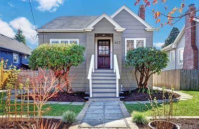 Seattle Single Family Home For Sale: 807 NW 56th St