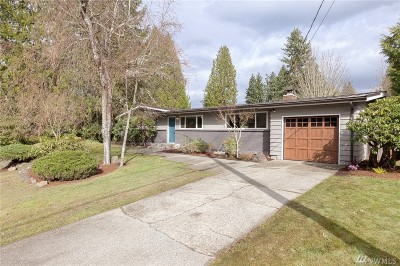 Bellevue Single Family Home For Sale: 1244 165th Ave SE