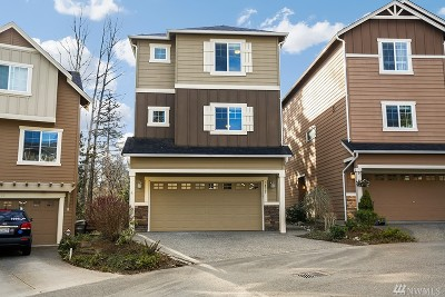 Bothell Condo/Townhouse For Sale: 3432 164th Place SE
