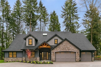Woodinville Single Family Home For Sale: 15330 NE 182nd Place