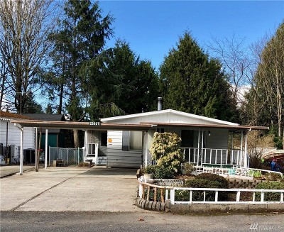 Kent WA Single Family Home For Sale: $130,000