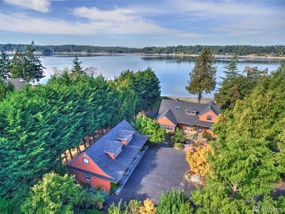 Thurston County Single Family Home For Sale: 3604 Sunset Beach Dr NW