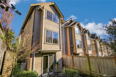 Seattle Single Family Home For Sale: 1017 NE 123rd St #A
