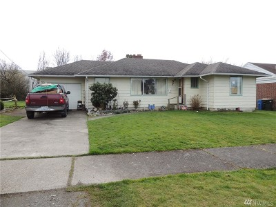 Chehalis Single Family Home For Sale: 57 SW 7th St
