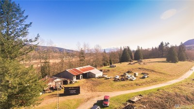 Bellingham Single Family Home For Sale: 17845 Old Lake Samish Rd