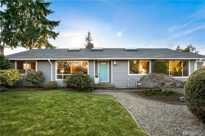 Edmonds Single Family Home For Sale: 21822 92nd Ave W