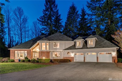 Woodinville Single Family Home For Sale: 18810 236th Ave NE