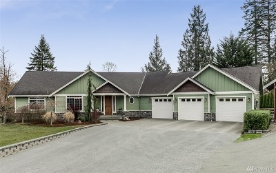 Snohomish Single Family Home For Sale: 4827 144th Dr SE