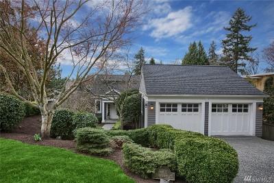 Kirkland Single Family Home For Sale: 9801 111th Ave NE