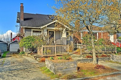Seattle Single Family Home For Sale: 7523 19th Ave NW