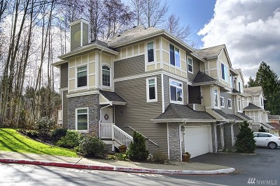 Bellevue Condo/Townhouse For Sale: 6537 SE Cougar Mountain Wy #1