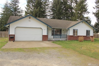 Grand Mound WA Single Family Home For Sale: $279,900
