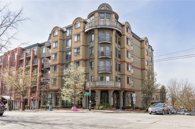 Seattle Condo/Townhouse For Sale: 133 Queen Anne Ave N #PH601